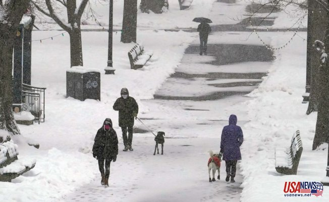 Cross State storms to Strike South and East with more snow