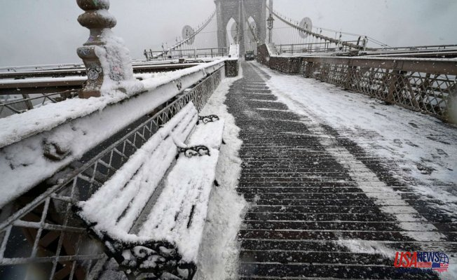Snow moves to the Northeast, brutally cold air to Last from the Midwest