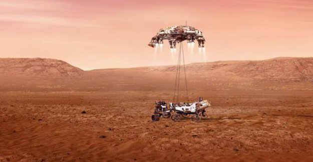 In 2021, the year in space: from the first tourists into orbit to the landing-place china on Mars