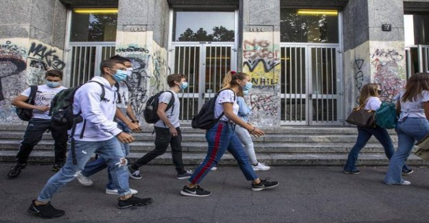 Masks compulsory in school, the Council of State: Assessing the impact