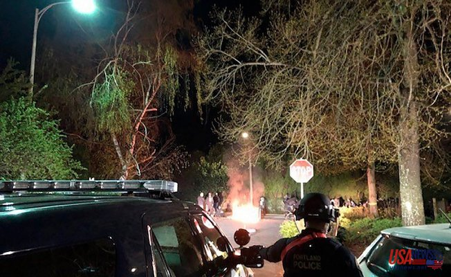 Portland Authorities declare riot Following vigil to Get Daunte Wright shooting