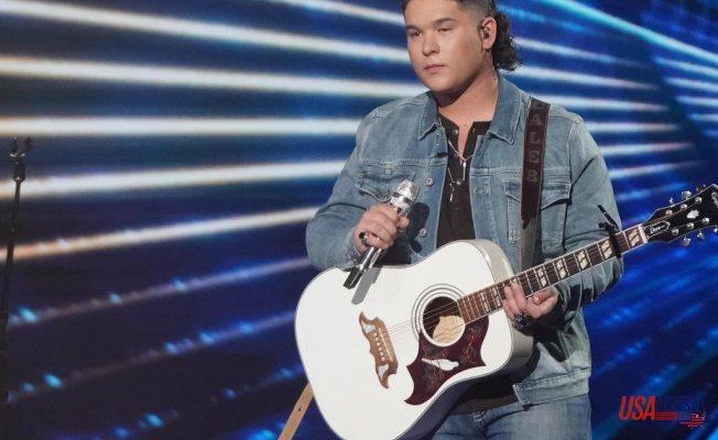 """""""American Idol"""" finalist Caleb Kennedy leaves Series after video Revealing KKK-style hood surfaces"""
