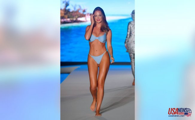 SI Swimsuit model Haley Kalil says people are shocked by her Mathematics degree:'It about changing the Story'