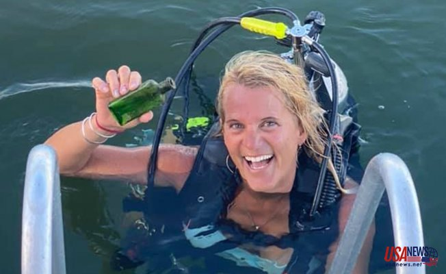"""Michigan boat captain discovers 95-year-old message inside a bottle: """"We were all shocked"""""""