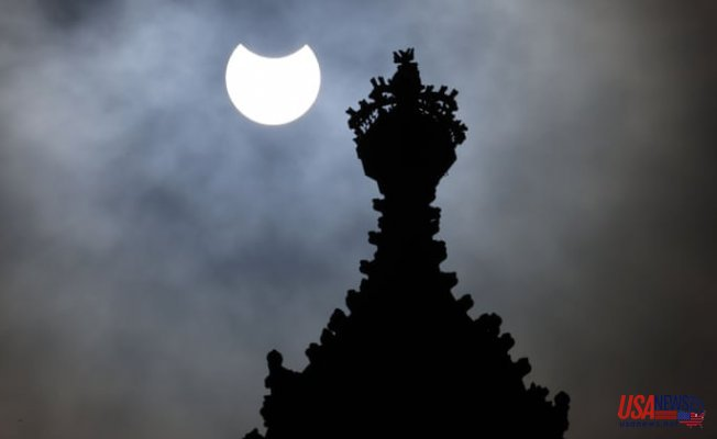 Solar eclipse 2021: spectacle visible across UK and Ireland