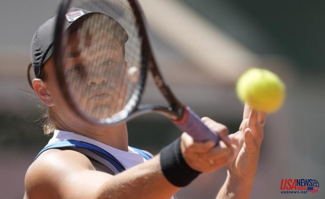 Top-ranked Barty Improvements in French Open, Rublev Removed