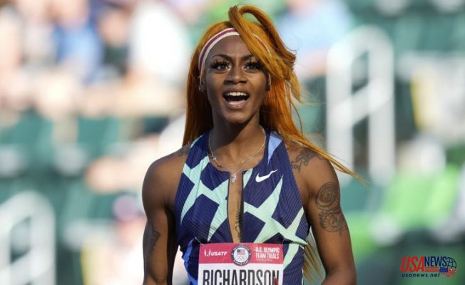 After the marijuana test, Richardson will not be able to compete in the Olympic 100