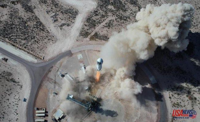 Blue Origin's Jeff Bezos to Soar into Space