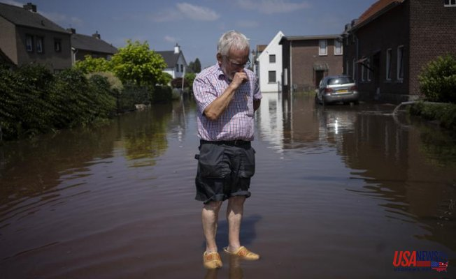 The survivors recall their escape and ponder the future after Europe's floods