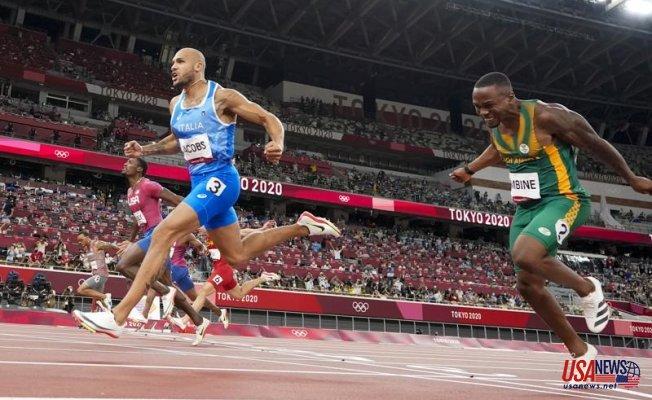 A Texas-born Italian sprints to Bolt's successor