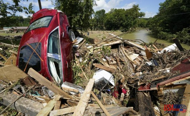 After the flooding in Tennessee, 22 people were killed and many more are still missing