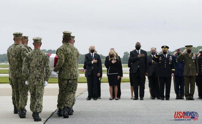 Biden honors US troops who died in Afghanistan