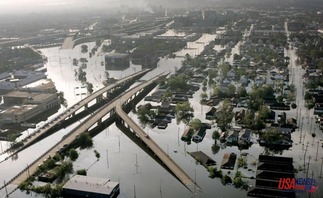 Ida is similar to Katrina but stronger and smaller