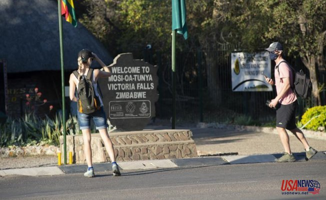 Zimbabwe floods Victoria Falls with vaccinations to aid tourism