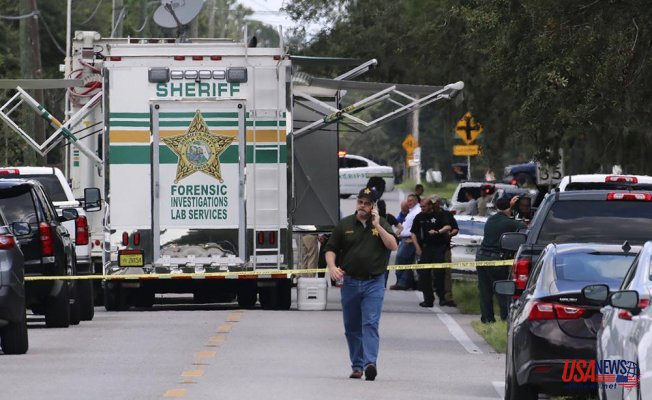 4 people were killed by a Florida gunman, including a mom who was holding her baby
