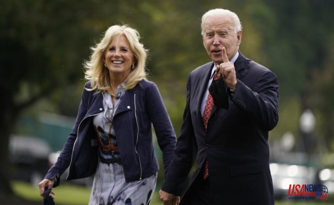 Biden is eager to leave DC and push the benefits of the spending plan
