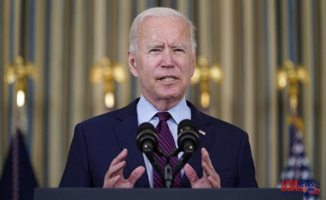 """Biden urges GOP to """"get out of the way"""" on debt limit"""