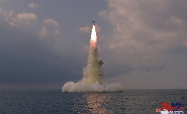 N Korea confirms missile testing for submarine launch