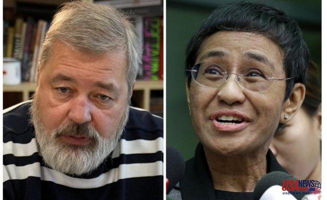 Nobel Peace Prize for journalists Ressa & Muratov