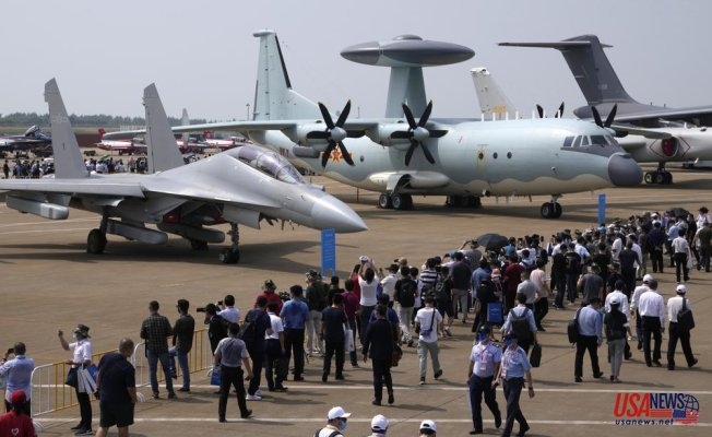 Tensions rise as Chinese flights near Taiwan get more intense