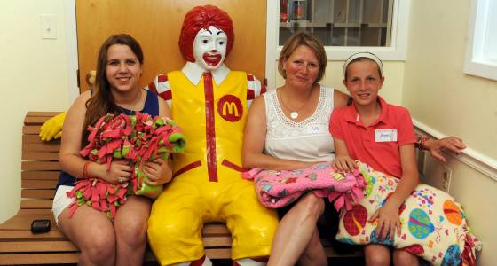 $5 million grant means Ronald McDonald House can begin building new facility in Baltimore