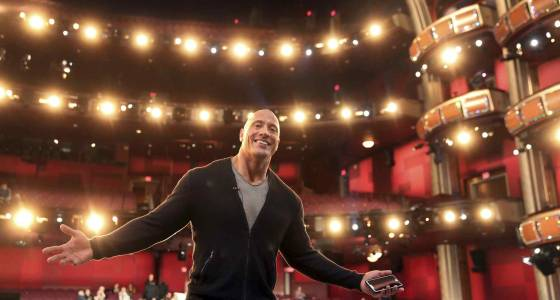 A cadre of casually-clad stars come through Oscar rehearsals