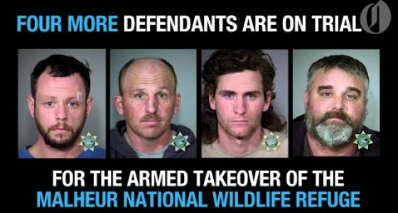 About 22 FBI agents walked onto Malheur National Wildlife Refuge in middle of night Jan. 29, 2016