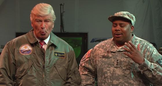 Alec Baldwin returns as President Trump on 'SNL'