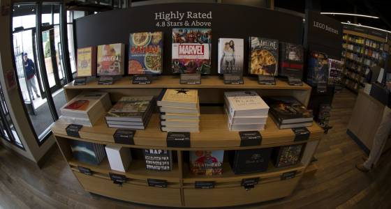 Amazon opens its first East Coast bookstore — in Dedham, Mass.