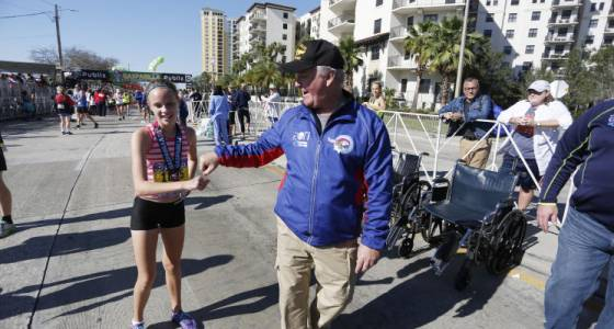Another Gasparilla first for 13-year-old Ellie Pleune