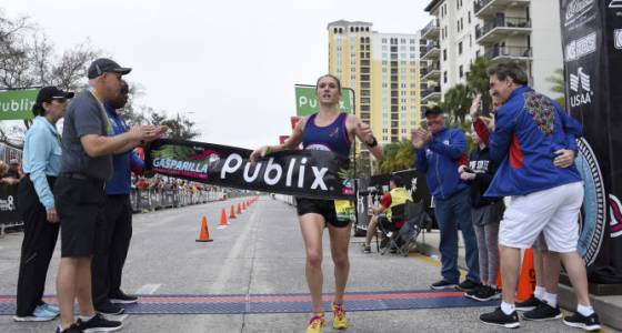 Another weekend, another title for Gasparilla 15K women's champ Stephanie Pezzullo