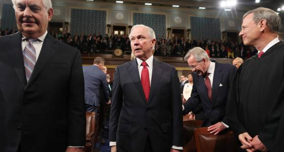 Atty. Gen. Sessions spoke twice with Russian envoy during campaign, didn't tell Senate hearing, officials say