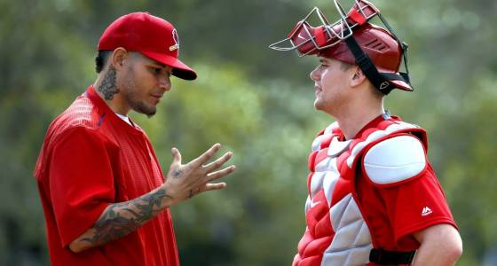 Backstop to the future: Yadier Molina passing torch to Carson Kelly