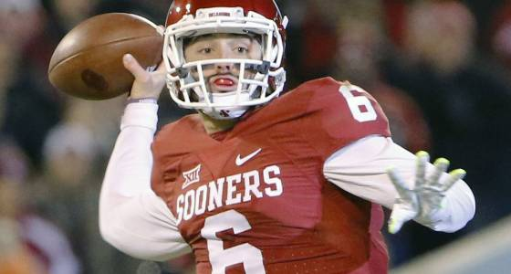 Baker Mayfield booked on public intoxication charges