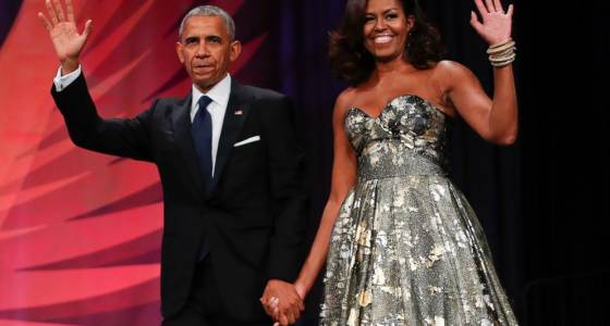 Barack and Michelle Obama have book offers