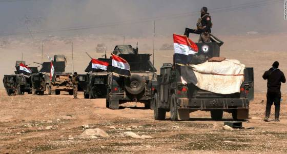 Battle for Mosul: Iraqi forces advance near key area in city's west