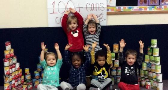 Bethlehem preschoolers get lesson in helping others
