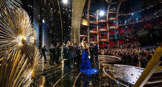 Big studios nearly struck out in Oscars' Best Picture category