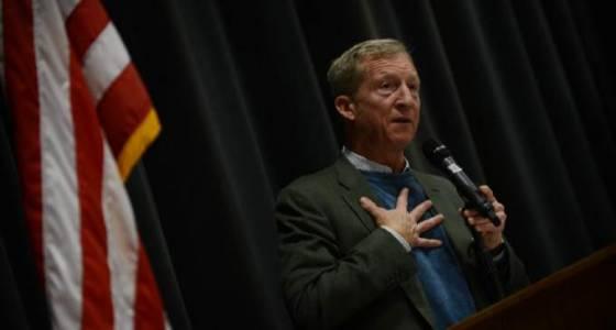 Billionaire Tom Steyer torches President Trump in Sonoma County Democrats fundraiser