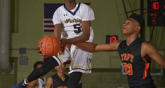 Birmingham basketball tops Taft for a fourth time to reach City final