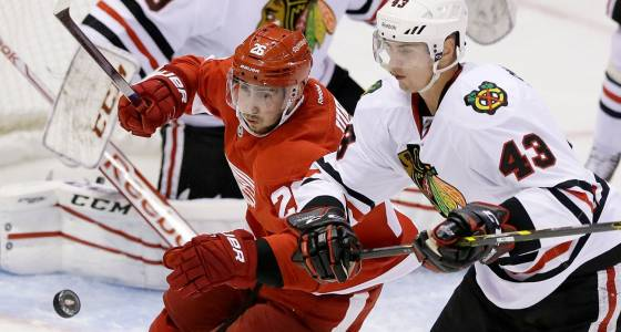Blackhawks acquire Jurco from Red Wings