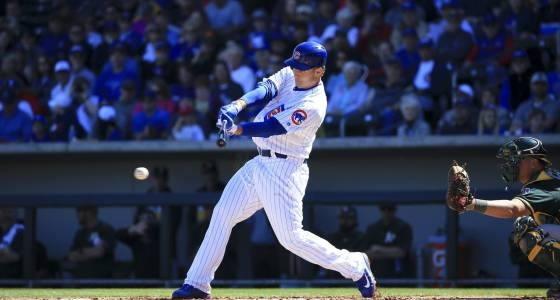 Bloop hits satisfy Cubs slugger Anthony Rizzo nearly as much as homers
