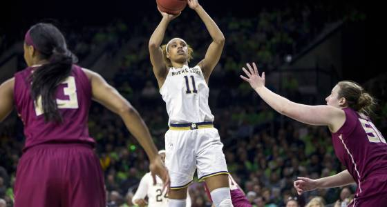 Brianna Turner leads No. 5 Notre Dame past No. 8 Florida State for ACC title