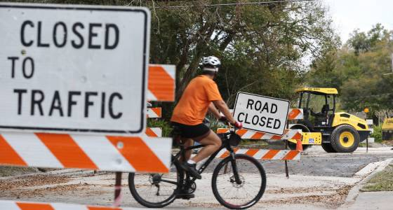 Bumby Avenue to reopen Friday after two years of closures