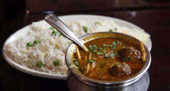 Cafe Spice serves Indian cuisine with attention to detail