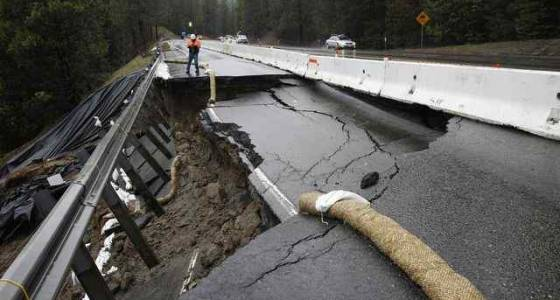 California's storm-lashed roads, dams could cost $1B to fix