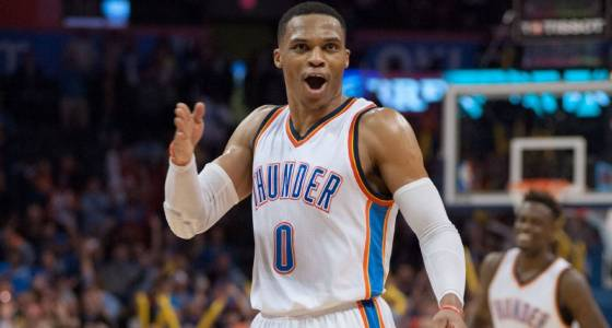 Can Westbrook average a triple-double? He's got a 75 percent chance