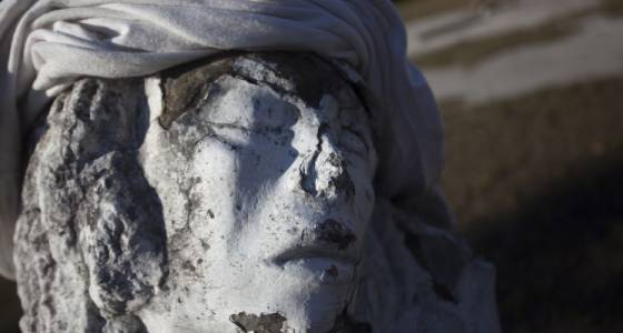 Can you solve the mystery of this afflicted St. Petersburg statue?