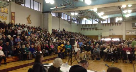 Capacity crowd in Santa Rosa shows support for health care law