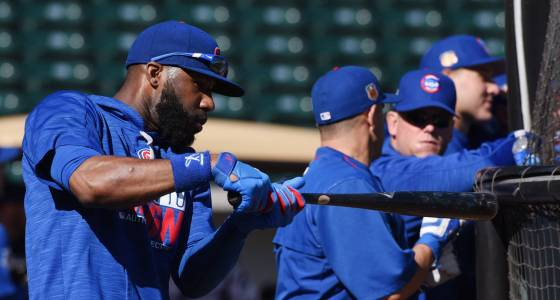 Chicago Cubs' Heyward putting in extra to improve hitting